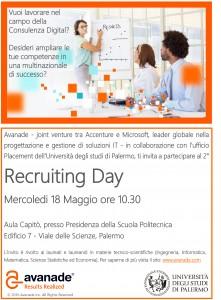 Locandina Recruiting Day