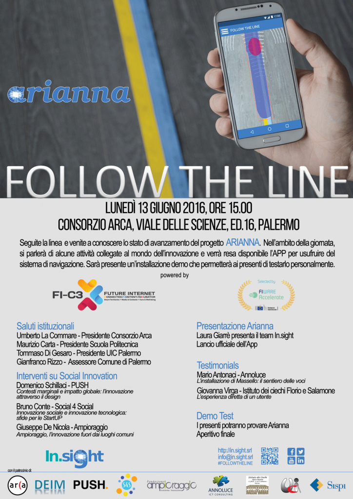 Locandina Follow the Line- 13 giugno [222840]