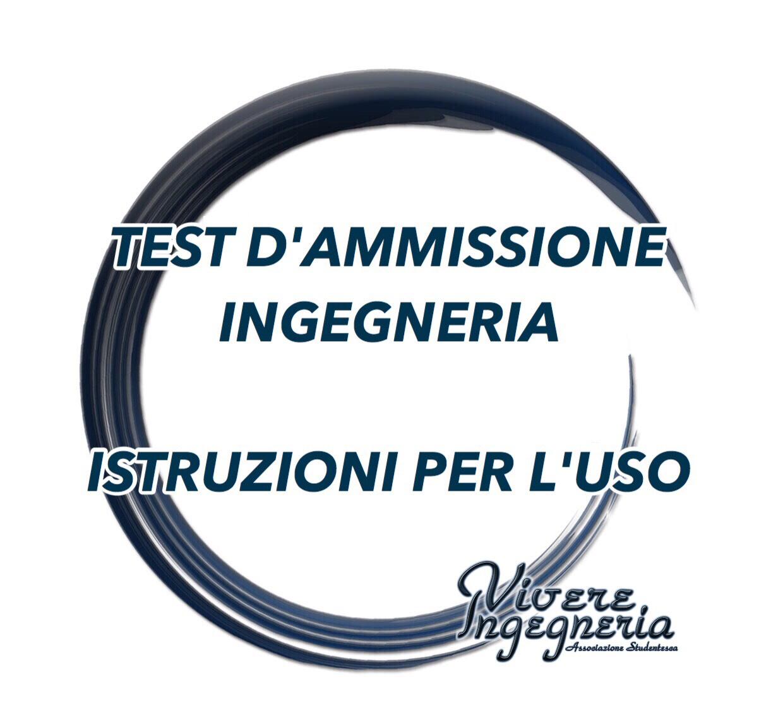 Calendario Unipa 2020.Test Di Ammissione Ingegneria 2019 Istruzioni Per L Uso
